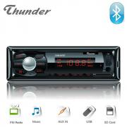 Автомобилен плеър THUNDER TUSB-007BT, Bluetooth, USB / SD / AUX / FM радио, 4x20W